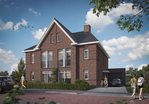 Herenland 2 onder 1 kap, nieuwbouw in Nijmegen