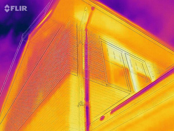 warmtescan, warmtebeeldcamera, gratis warmtescan, duurzaamheid woningen,